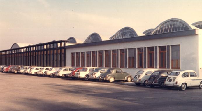 Sede di Via Grandi Sisme 1961